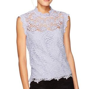 NWT Nanette Lepore Sleeveless Crochet Top